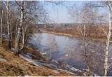 Подъём воды в реке Омь замедлился