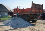 Начали ремонт дорог в ТОСах