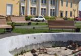 Светодиодный фонтан появится около Дворца культуры