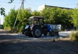 Начался ремонт дороги во втором квартале