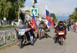 Первый мотопробег и девятый велопробег в День Государственного флага РФ