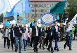 Парад российского студенчества впервые прошел в Куйбышевском районе