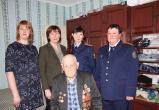 Участника Великой Отечественной войны поздравили с Днём рождения