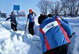 «Снежный десант» прибыл в Куйбышевский район