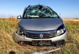 Нетрезвым сел за руль автомобиля и опрокинулся