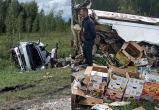 Огурцы рассыпал по трассе около Куйбышева уснувший водитель