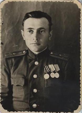 Фото Степанов Пётр Кузьмич 1918 - 2001 гг.